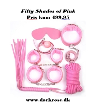 Fifty Shades of Pink Sæt